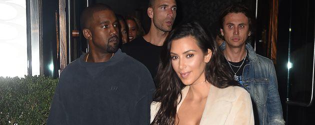 """Kim Kardashian in New York auf dem Weg zum japanischen Restaurant """"Zuma"""""""