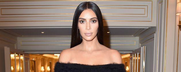 Kim Kardashian auf der Pariser Fashion Week