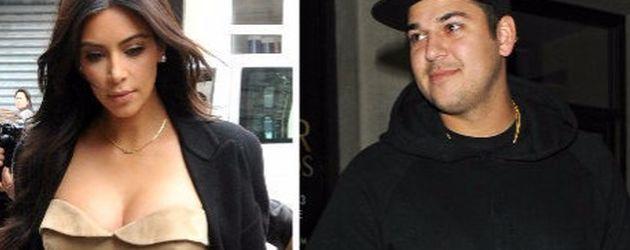 Kim Kardashian und Robert Kardashian