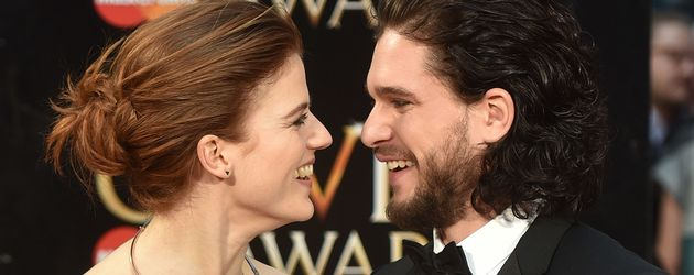 "Rose Leslie und Kit Harington bei den ""Olivier Awards"" 2016"