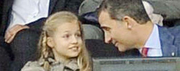 Prinz Felipe von Spanien und Prinzessin Leonor von Spanien