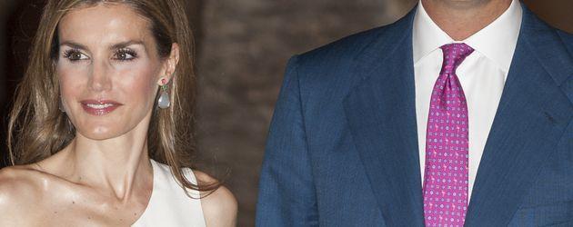 Prinzessin Letizia und Prinz Felipe von Spanien