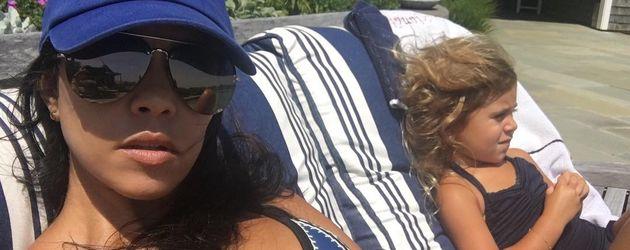 Kourtney Kardashian mit Tochter Penelope