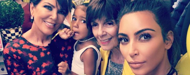 Kris Jenner, North West, Mary Jo und Kim Kardashian