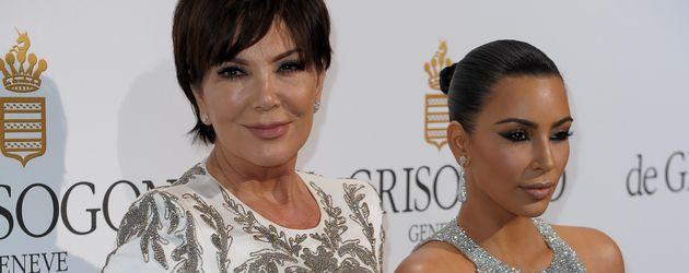 Kris Jenner und Kim Kardashian im Mai 2016 bei den 69. Filmfestspielen in Cannes