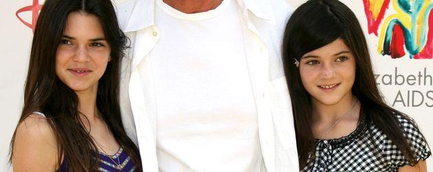 Kylie Jenner, Kendall Jenner und Bruce Jenner