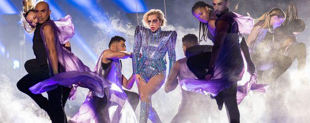 Lady Gaga bei der Super Bowl Halbzeitshow