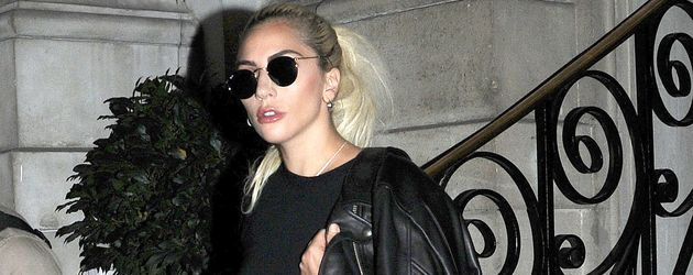 Lady GaGa unterwegs in London
