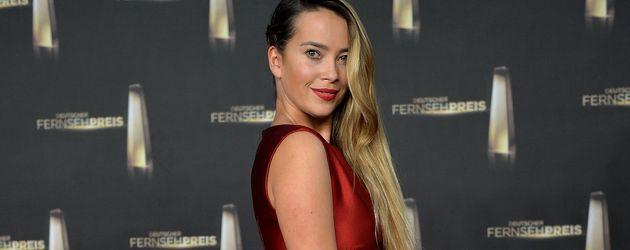 Laura Osswald beim Deutschen Fernsehpreis 2014