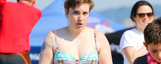 Lena Dunham im Urlaub
