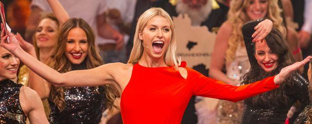 """Lena Gercke als Moderatorin von """"Deutschland tanzt"""""""