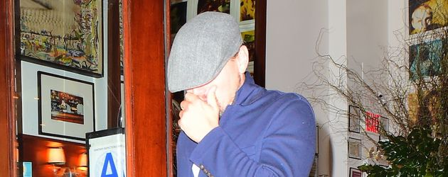 "Leonardo DiCaprio verlässt den ""Cipriani's""-Club in Manhattan"