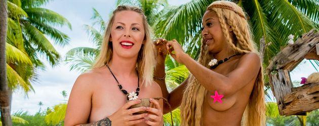 Leonore Bartsch und Sarah Joelle Jahnel bei Adam sucht Eva