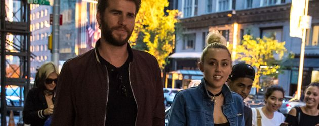 Liam Hemsworth und Miley Cyrus in New York City