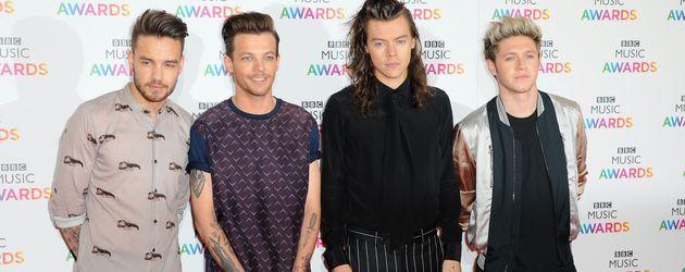One Direction bei den BBC Music Awards in Birmingham 2015