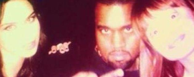 Kanye West und Liliana Matthäus