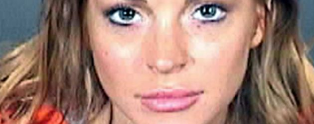Mugshot von Lindsay Lohan
