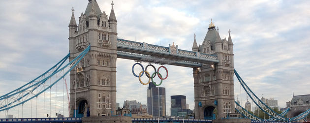 London Bridge während Olympia