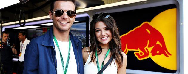 Louis Tomlinson und Danielle Campbell beim Formel-1-Rennen in Monaco