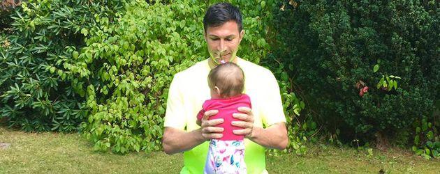 Lucas Cordalis mit Tochter Sophia