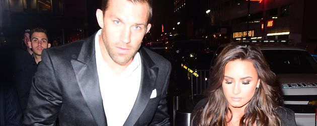 Luke Rockhold und Demi Lovato in NYC