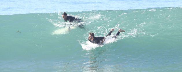 Luke und Liam Hemsworth in Malibu