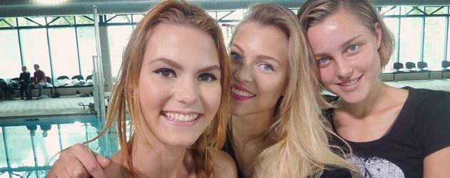 Lynn, Serlina und Maja
