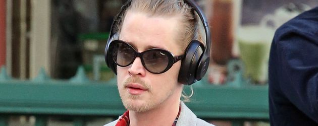 Macaulay Culkin unterwegs in New York