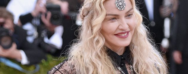"Madonna bei der ""Manus x Machina: Fashion In An Age Of Technology""-Gala im Mai 2016"