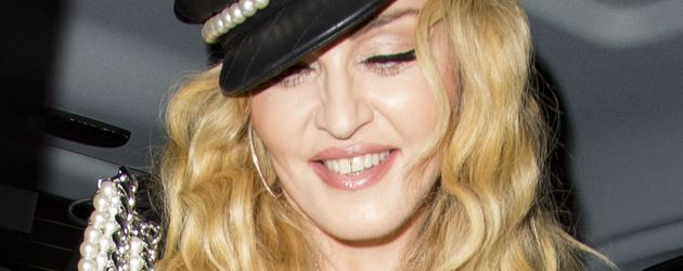 Madonna im Oktober 2016 nach einem Dinner in London