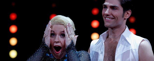 """Maite Kelly und Christian Polanc beim """"Let's Dance""""-Halbfinale 2011"""