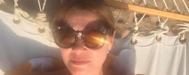 Maren Gilzer im Ägypten-Urlaub