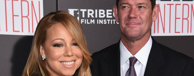 Mariah Carey und James Packer im September 2015