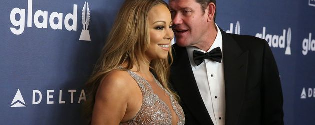 "Mariah Carey und James Packer bei den ""GLAAD Media Awards"" im The Waldorf Astoria in New York"