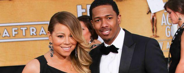 Mariah Carey und Nick Cannon im Jahr 2014