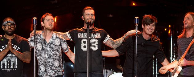 adam levine und James Valentine