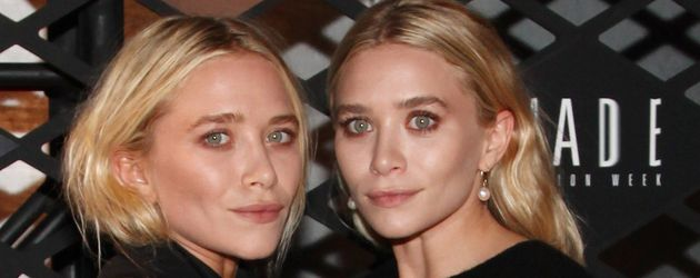 Mary-Kate und Ashley Olsen auf einem Fashion-Event in NY