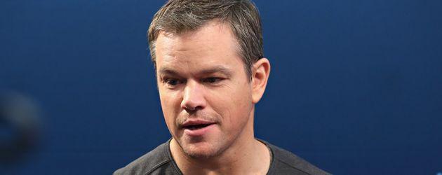 Matt Damon bei SiriusXM's Entertainment Weekly