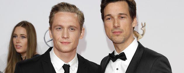 """Matthias Schweighöfer und Florian David Fitz bei der """"Bambi""""-Verleihung 2016"""