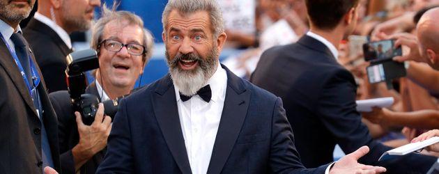 Mel Gibson beim Filmfestival in Venedig