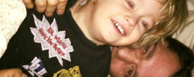 Michael Bublé und Luisana Lopilato mit ihrem Sohn Noah