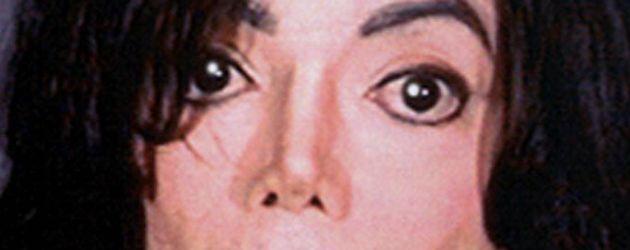 Michael Jackson auf seinem Mugshot