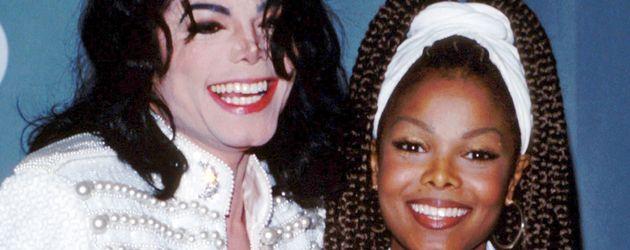 Janet Jackson und Michael Jackson