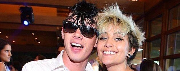 Michael Snoddy und Paris Jackson bei einer Party in Malibu