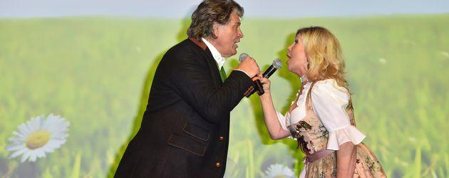Michael und Marianne beim EAGLES Fashion Dinner in München