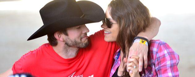 Mila Kunis und Ehemann Ashton Kutcher