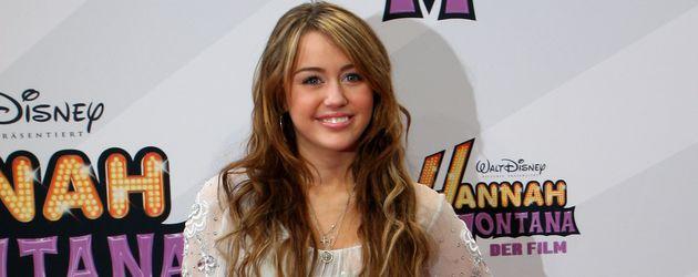 """Miley Cyrus bei der Premiere von """"Hannah Montana: The Movie"""" in München"""