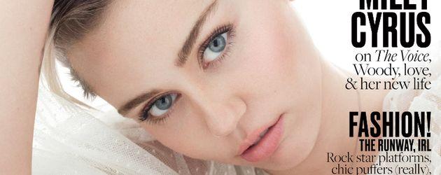 """Miley Cyrus auf dem Cover des """"Elle""""-Magazins"""
