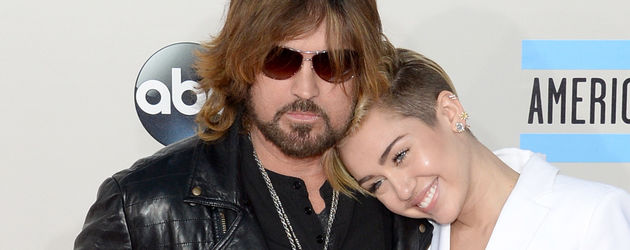 Miley Cyrus und Billy Ray Cyrus