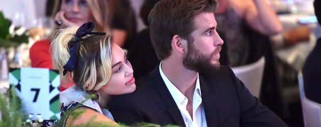 Miley Cyrus und Liam Hemsworth beim Variety's Power of Women Luncheon in Beverly Hills